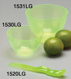 1532LGS : Candeez Scented Flexible Mixing Sets: Lime/Green