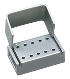 T10C : Anodized Aluminum 10-Hole Bur Blocks