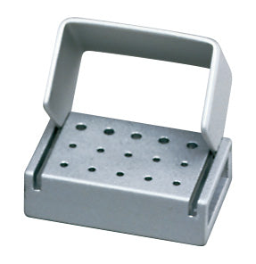 T15C : Anodized Aluminum 15-Hole Bur Blocks