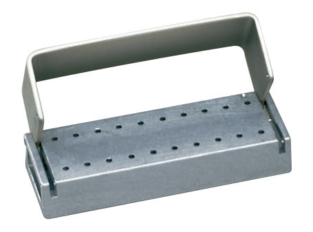 T20C : Anodized Aluminum 21-Hole Bur Blocks