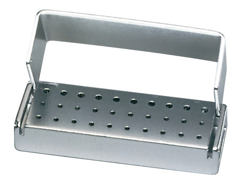 T30C : Anodized Aluminum 30-Hole Bur Blocks