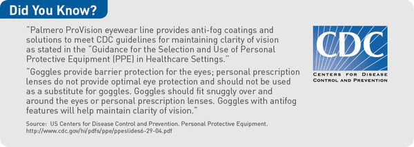 1968 : ProVision® Eyesavers™ 10-Pack Clear