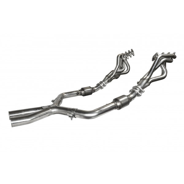 "Kooks 2005-2010 Ford Mustang GT 1 5/8"" Headers and Catted X-pipe 1131H020"