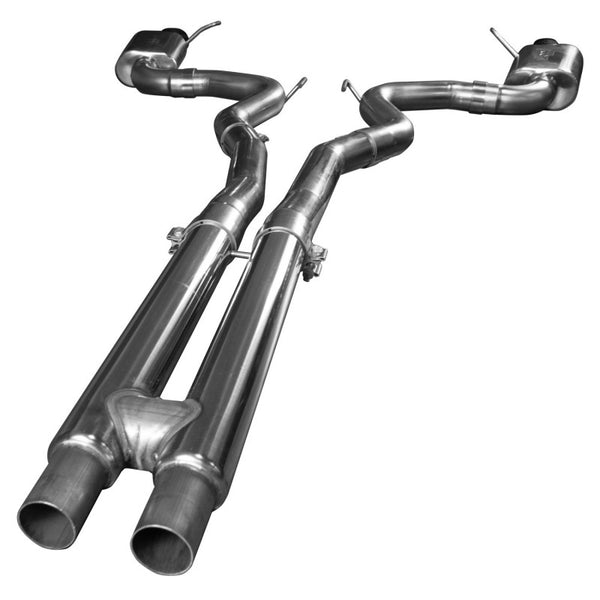 "Kooks 2015+ Ford Mustang GT 5.0l Oem To 3"" Cat Back Exhaust W/ H-pipe & Black Tips 11514411"