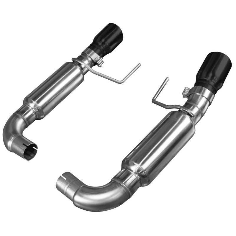 "Kooks 2015+ Ford Mustang GT 5.0L Oem X 3"" Axle Back Exhaust W/ Black Tips 11516210"