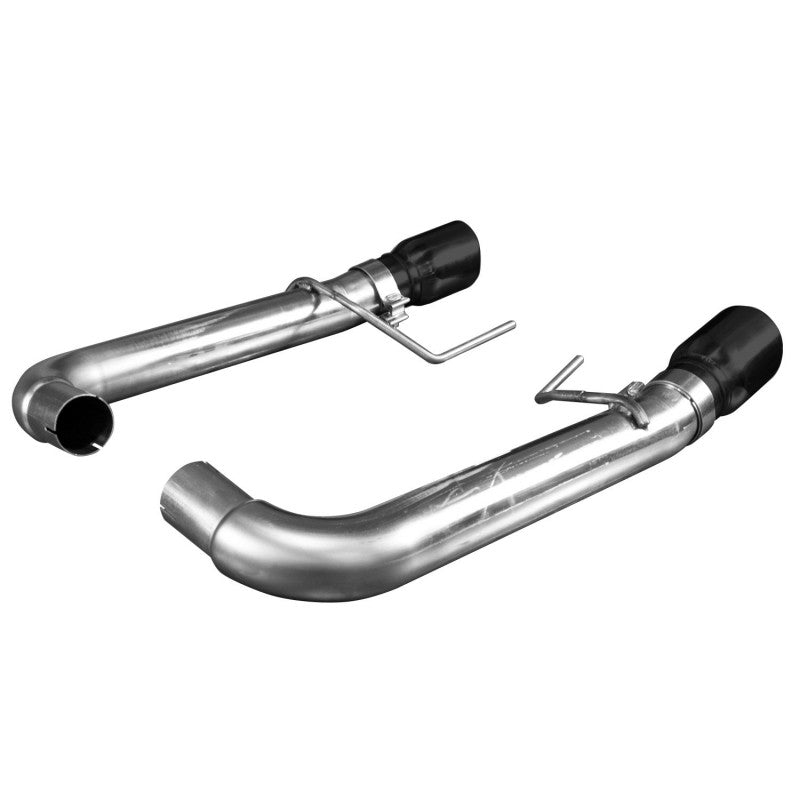 "Kooks 2015+ Ford Mustang GT 5.0L Oem X 3"" Axle Back Exhaust W/ Black Tips 11516410"