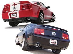 Borla Mustang GT/ Mustang Shelby GT500 2005-2009 Cat-Back Exhaust S-Type 140135