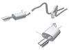 Borla Mustang v6 2011-2014 Cat-Back Exhaust S-Type 140375