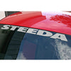 Steeda Windshield Decal - Silver 157 3503