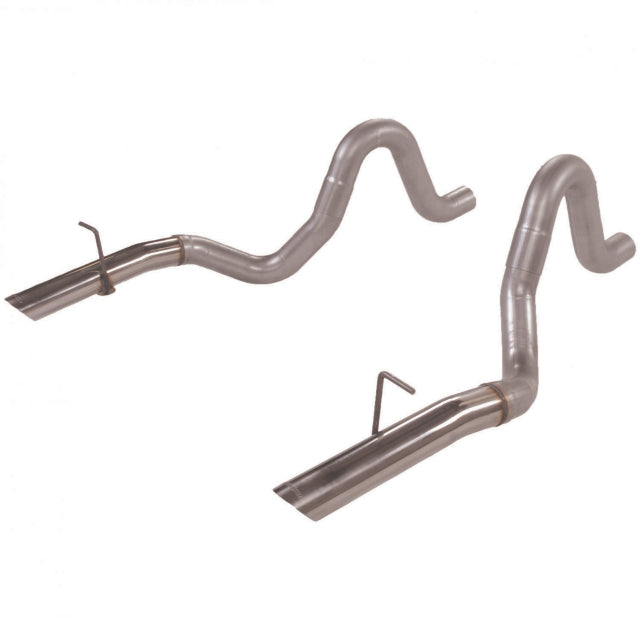Flowmaster Prebent Tailpipes - 3.00 in. Rear Exit w/stainless tips - Pair 15820