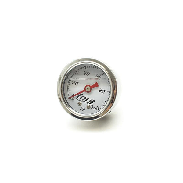 Fore Innovations Mechanical Fuel Pressure Gauge 1-100psi 200049