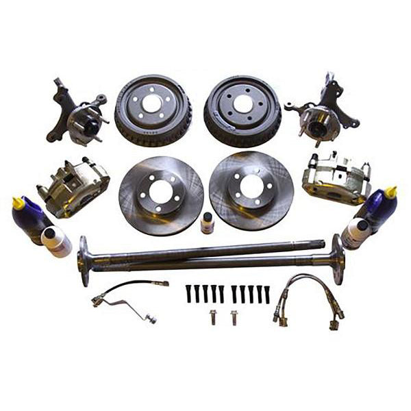 SVE Mustang 5 Lug Brake Conversion Kit w/ Rear Drums (79-93) 2300EK