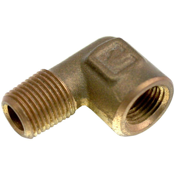 "Steeda Mustang 1/8"" NPT 90 Degree Elbow for Electric Gauge Fitting - 86-04 250 1202P 22"