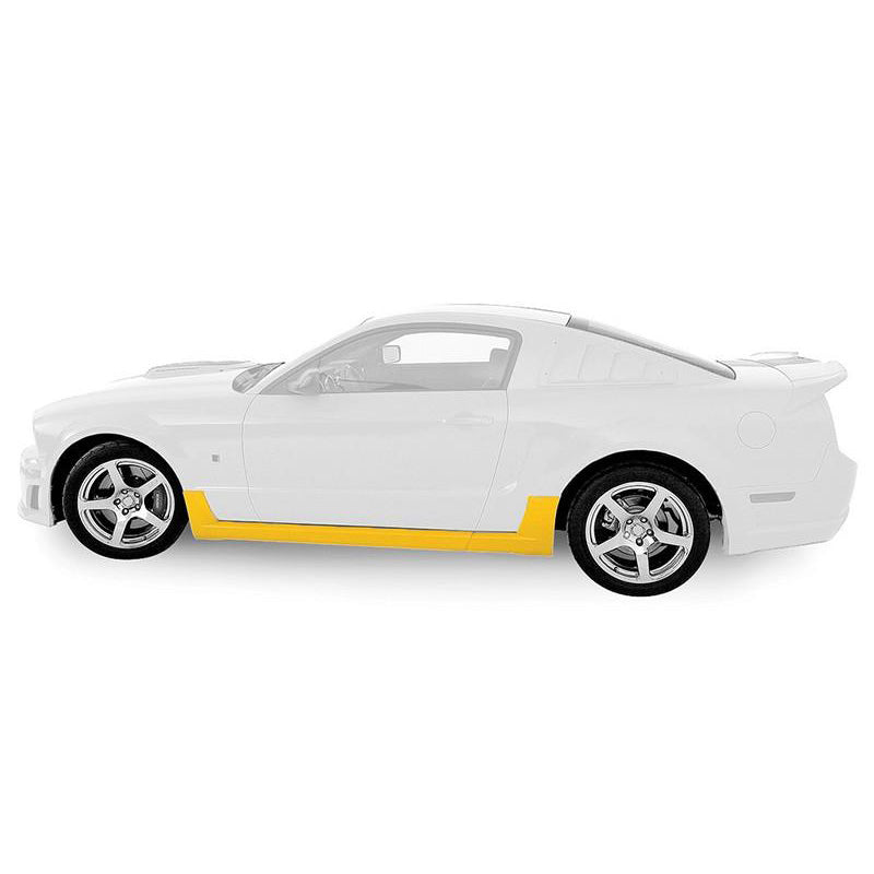 Roush Performance Mustang Rocker Kit (2005-2009) - Unpainted 401337