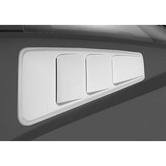 Roush Performance Mustang Quarter Window Louvers (2005-2014) - Unpainted 420093