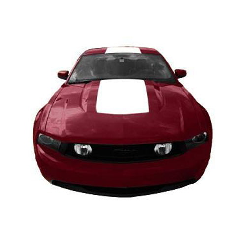 Roush Performance Mustang Racing Stripes, Hood Top Style 4 (2010-2012) 420720-C