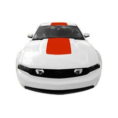 Roush Performance Mustang Racing Stripes, Rear Top Style 4 W/ Ford Rear Wing (2010-2012) 420744-C