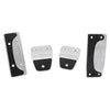 Roush Performance Mustang Billet Pedal Kit, Manual (2011-2014) 421124