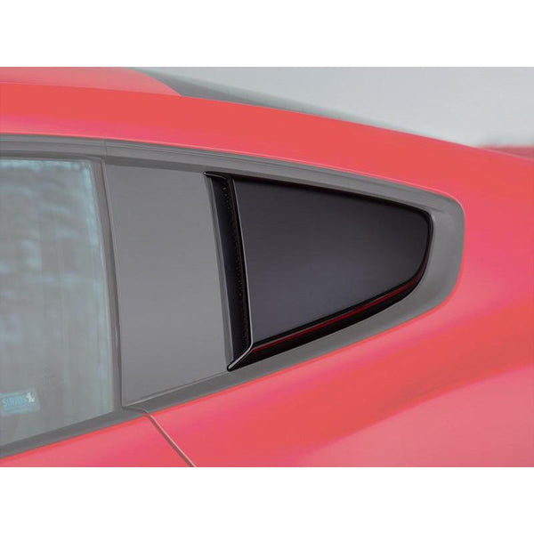 Roush Performance 2015-2018 Mustang Roush Quarter Window Scoops (Painted Black) 421881