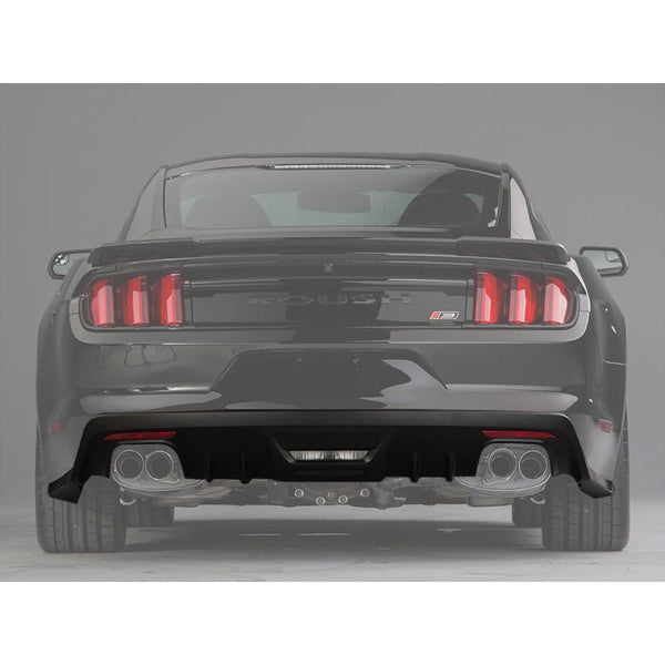 Roush Performance 2015-2017 Ford Mustang ROUSH Rear Valance Kit - Prepped for Backup Sensors 421919