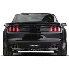 Roush Performance 2015-2017 Mustang 2.3L EcoBoost ROUSH Quad Tip Active Exhaust Kit 421928