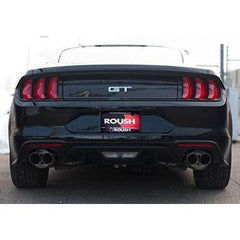 Roush Performance 2018 ROUSH Mustang 5.0L GT Axle-Back Exhaust Kit 422097