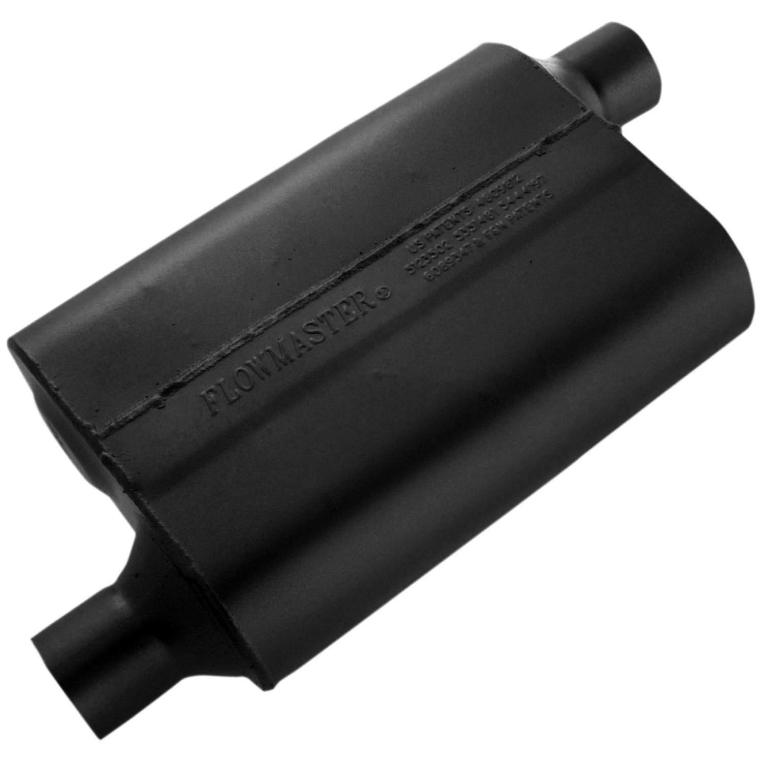 Flowmaster 40 Series Muffler - 2.25 Offset In / 2.25 Offset Out - Aggressive Sound 42443