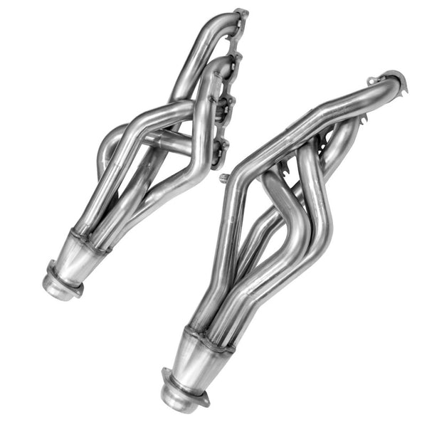 "Kooks 2007-2010 Ford Mustang Shelby GT500 1 3/4"" X 3"" Header And 3"" Catted X Pipe 5.4l Bundle39"