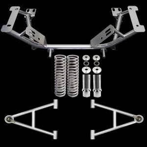 UPR 79-93 Mustang Chrome Moly K Member & Short A Arm Kit 2005-79K-102