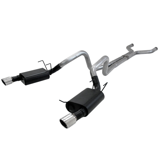 Flowmaster Cat-back System 409s - Dual Rear Exit - American Thunder - Aggressive Sound 817587