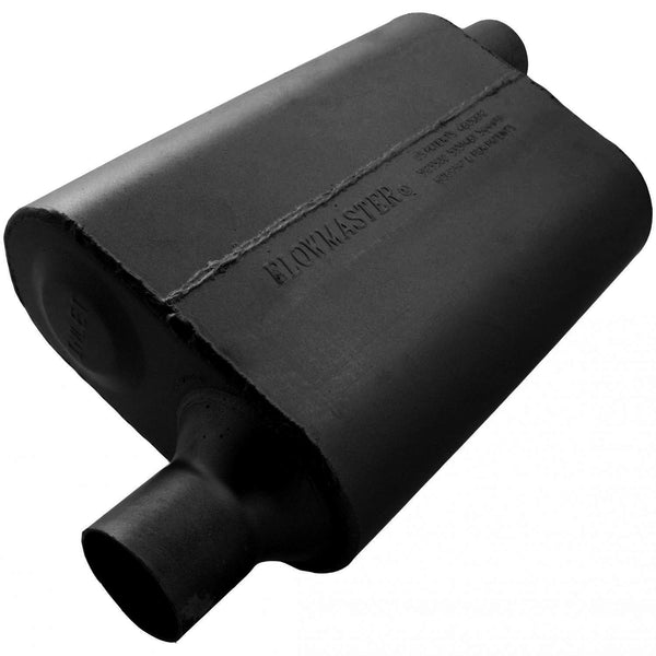 Flowmaster 40 Delta Flow Muffler - 2.25 Offset In / 2.25 Offset Out - Aggressive Sound 942443