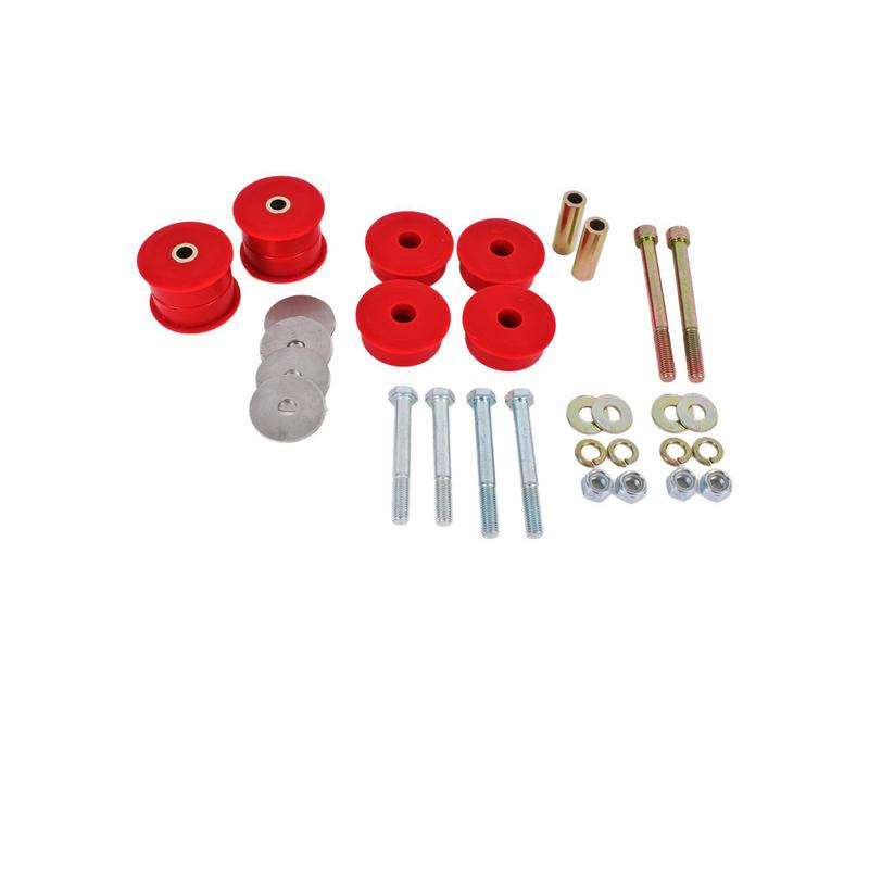 BMR Suspension Bushing Kit, Differential, Polyurethane, Red