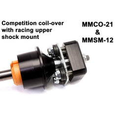 Maximum Motorsports Coil-Over Package, MM Dampers, 1994-2004 Mustang, Race-RA2, Chrome COP-62-RA2-CH