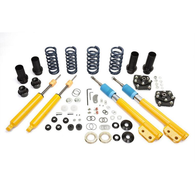 Maximum Motorsports Coil-Over Package, MM Dampers, 1994-2004 Mustang, Sport-SP1, Black PC COP-62-SP1-B