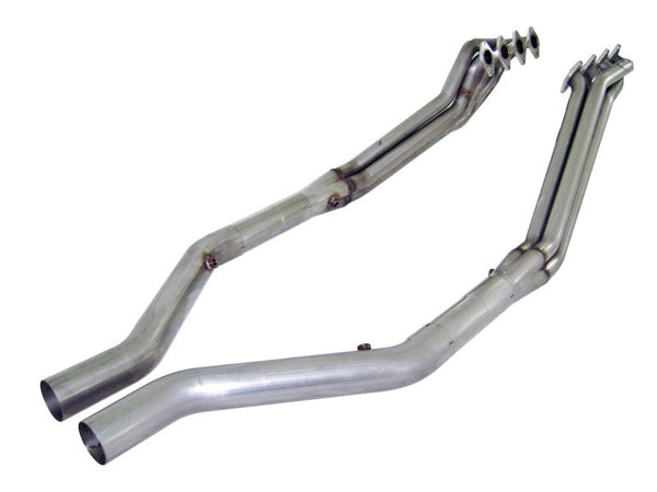 "Stainless Works Ford Mustang 2005-10 Headers: 1 5/8"" Off-Road X-Pipe M05HORX"