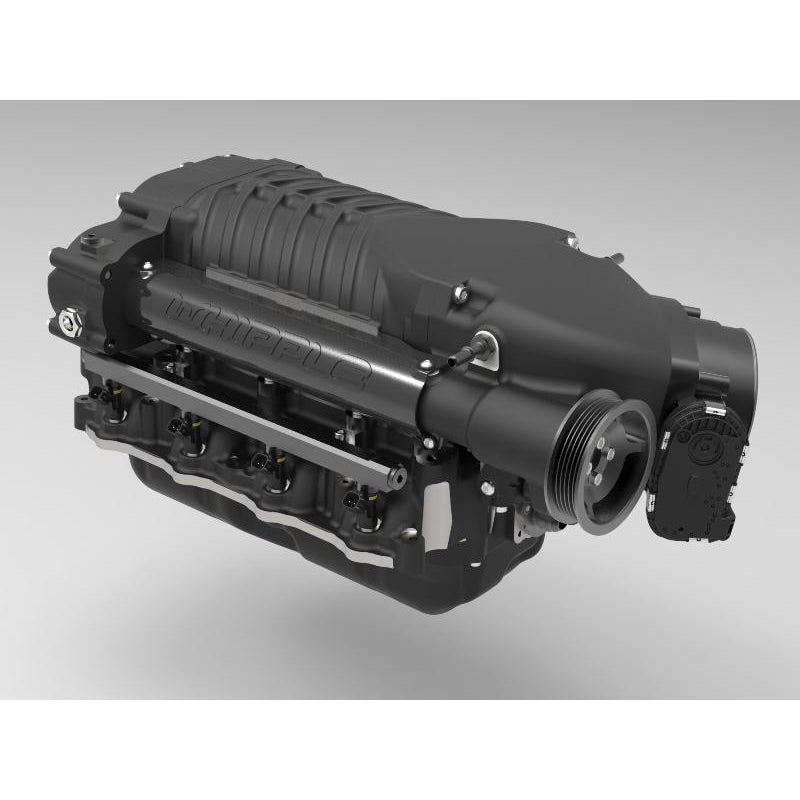 Whipple 2015 Gen 3 Upgrade Supercharger, Black Finish