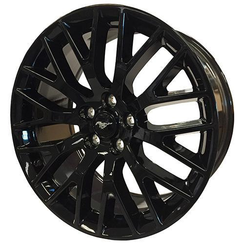 "Ford Performance 2015-2017 Mustang GT Performance Pack Front Wheel 19"" X 9"" - Gloss Black"