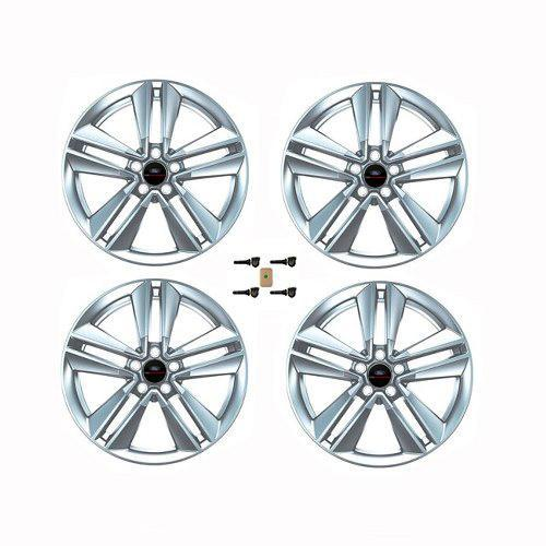 "Ford Performance 2015-2017 Mustang Ecoboost 19"" X 9"" Performance Pack Wheel Set with Tpms Kit - Sparkle Silver"