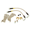 Maximum Motorsports Stainless Brake Caliper Hose Kit, 1994-95 Mustang, rear MMBK12R