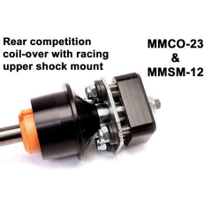 Maximum Motorsports Shock, Monotube, solid axle Mustang, 1979-2004, Race-RA2, Urethane Bushing MMD-RC10RA2-U