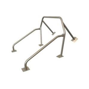 Maximum Motorsports Roll Bar: 6-point, swing-out door bars, NO harness mount tube MMRB-6.7