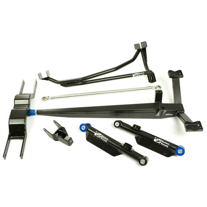 Maximum Motorsports Torque-arm Package, 1979-98 Mustang, Round (non-MM), Heavy-Duty MMTASS-1-RND-HV