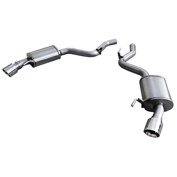 "ARH S550 Mustang 5.0L Coyote Axle-Back Exhaust 2-1/2"" - Stainless Steal (2015+) 613 MTC5-15212AXBK"