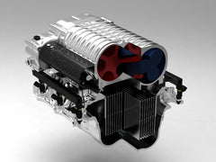 Whipple 2012 Boss Mustang Competition SC Systems, None Fuel Pump Booster Carbon Fiber Inlet Tube