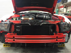 Whipple 2012 Boss 302 Mustang Stage 1 SC Kit, None Fuel Pump Booster Carbon inlet tube/Jackshaft cover