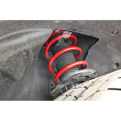 BMR Suspension Lowering Springs, Front, Performance, Red