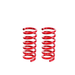 BMR Suspension Lowering Springs, Rear, Performance, Red