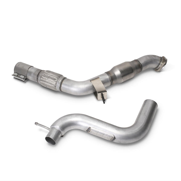 BBK 2015-17 Ford Mustang 2.3L Ecoboost Performance Down Pipe With Catalytic Converter 1809