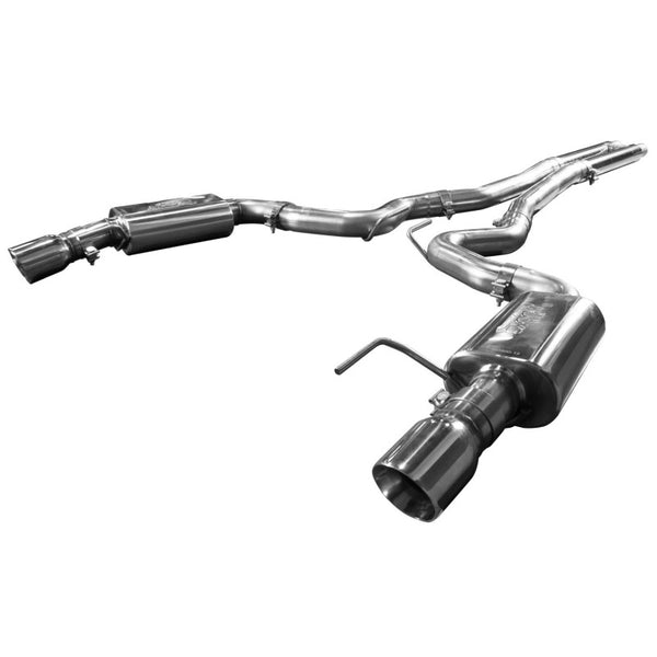 "Kooks 2015+ Ford Mustang GT 5.0l Oem To 3"" Cat Back Exhaust W/ H-pipe & Polished Tips 11514401"