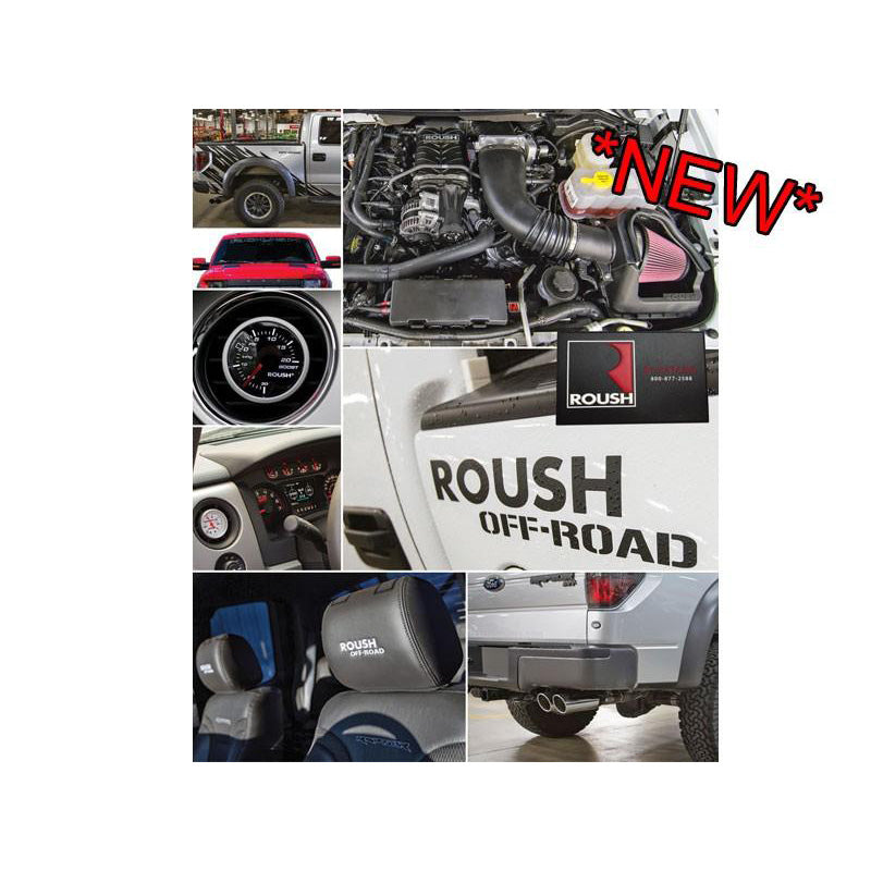 Roush Performance 2011-2014 6.2L Ford F-150 ROUSH Phase 1 Off-Road Raptor Package - 525 HP 1112-F150RKIT-AA
